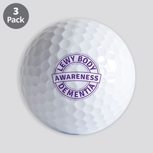 Lewy Body Dementia Awareness Golf Balls
