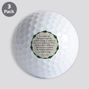Goodall Ball Golf Balls