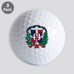 Dominican   Coat of Arms Golf Balls