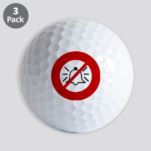 no-bells Golf Balls