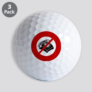 no-telemarketers Golf Balls