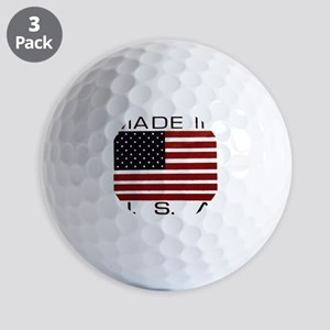 MADE IN USA VII Golf Balls