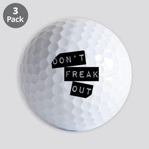 Dont Freak Out Golf Balls