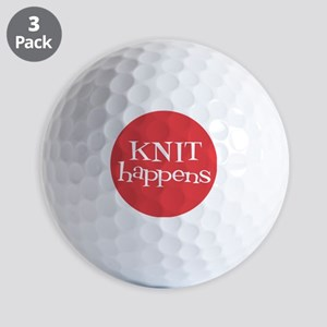 Knit Sassy - Knit Happens Golf Balls