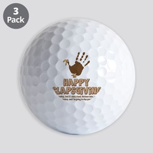 Happy Slapsgiving! Golf Balls