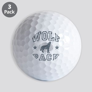 The Wolfpack Golf Balls