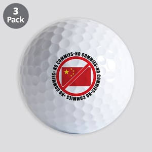 slash commies Golf Balls