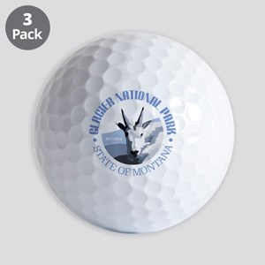 Glacier National Park (goat) Golf Ball