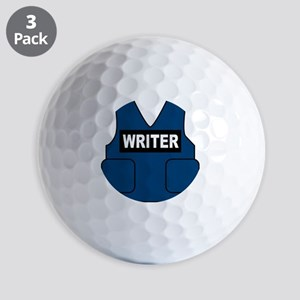 Castle Writer Vest Golf Balls