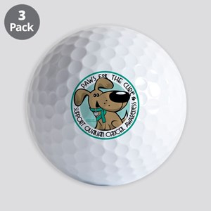 Paws-for-the-Cure-Ovarian Golf Balls