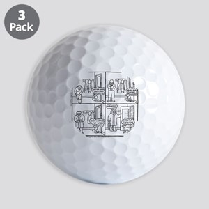 Superwimp Golf Balls