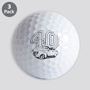 40 ford white Golf Balls