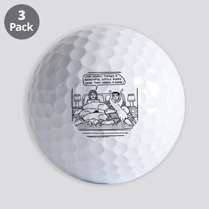 On The Bed Golf Balls