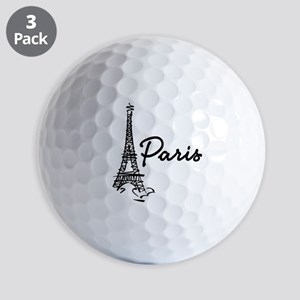 2-paris Golf Balls