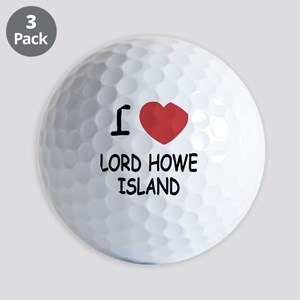 LORD_HOWE_ISLAND Golf Balls