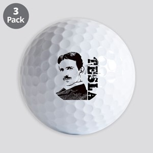 Tesla Fan Golf Balls