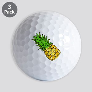 Psych - Pineapple Golf Balls