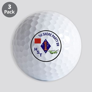 USMC - 1st Shore Party Battalion Golf Balls