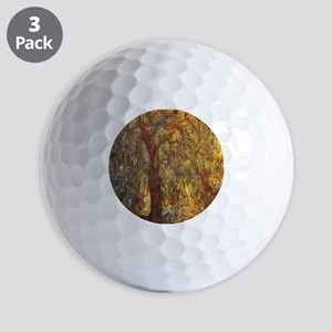 Weeping Willow by Claude Monet Golf Balls