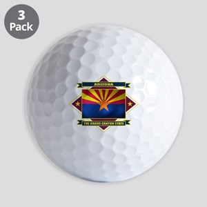 Arizona diamond Golf Balls