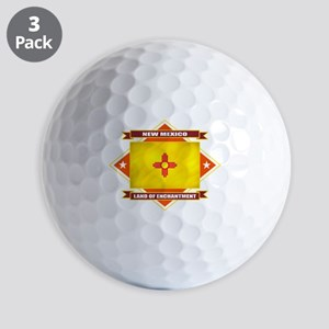 2-New Mexico diamond Golf Balls