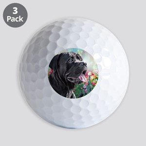 Cane Corso Painting Golf Ball