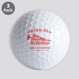 griswold_family_christmas-red Golf Balls