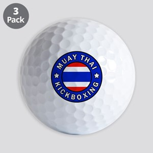 Muay Thai Golf Balls