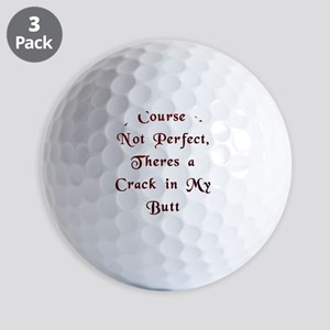 Im not Perfect Golf Balls