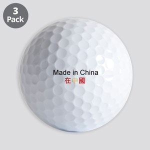 Chinese Pride Golf Balls