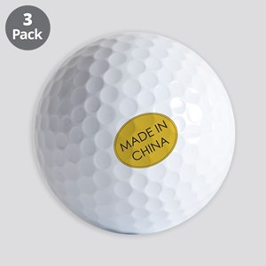 MadeInChina Golf Ball