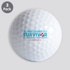 CHD Survivor - Grand Daughter Golf Ball
