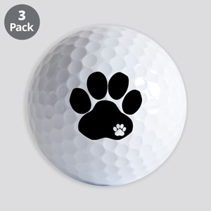 Double Paw Golf Balls