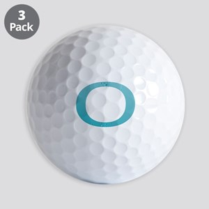 Water Numbers Golf Balls