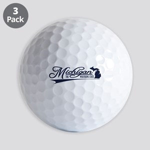 Michigan State of Mine Golf Ball