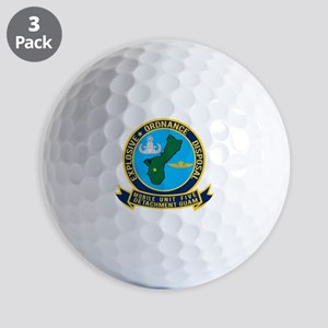 EOD Mobile Unit 5 Guam Golf Balls