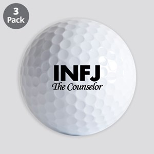 INFJ | The Counselor Golf Balls