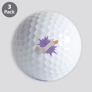 Arm Cast Golf Ball