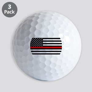 Thin Red Line - American United States Golf Balls