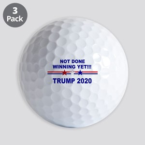 Not done winning yet! Golf Balls