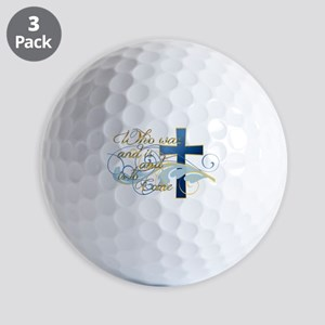 Who was and is and is to come Golf Balls