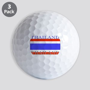 Thailand Thai Flag Golf Balls