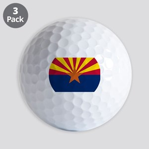 Arizona flag Golf Balls