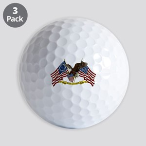 Second Amendment Liberty Eagle Golf Balls