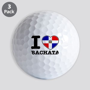 I love Bachata Golf Balls