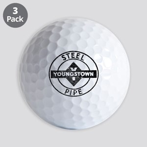 Youngstown Steel Pipe Golf Balls