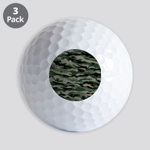 Army Camouflage Golf Ball