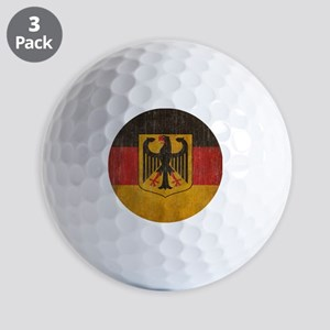 Vintage Germany Flag Golf Balls