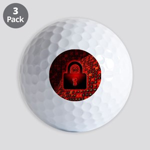 Secure data Golf Balls