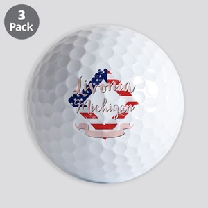 Livonia Michigan Golf Balls